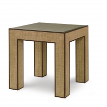 Newport End Table-Sand/Light Brown