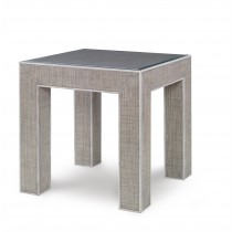 Newport End Table-French Grey/Peninsula (Pv-385-210-105)