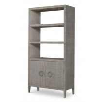 Charleston Bookcase-French Grey  (Pv-400-210)