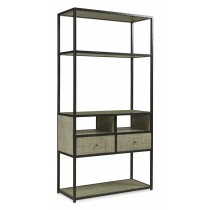 Palmetto Etagere-French Grey