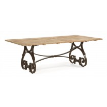 "84"" Rectangular Trestle Table"