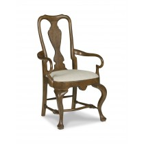 Andover Queen Anne Arm Chair
