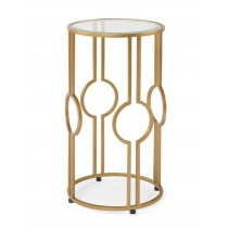 Claire Accent Table - Gold