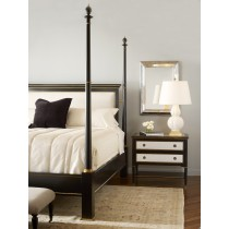 Barrington Poster Bed With Uph Headboard - King Size 6/6