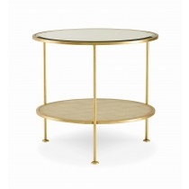 Adele Round End Table