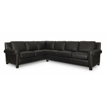 Lyndon Laf Quilted Corner Sofa