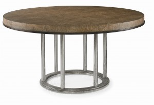 "Mesa Cornet 60.5"" Round Dining Table"