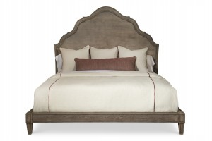 Casa Bella Carved Bed - King Size 6/6 - Timber Gray Finish