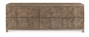 Casa Bella Low Media Console - Timber Gray Finish