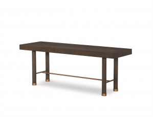Biscayne Bench-Mink Grey