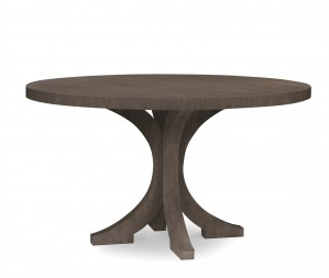 Carlyle Round Dining Table-Mink Grey (Bb-109-113)