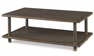 Biscayne Cocktail Table-Mink Grey