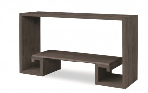 Greek Key Console-Mink Grey