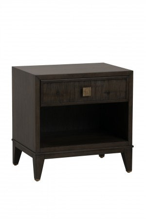 Carlyle 1 Drawer Nightstand-Mink Grey