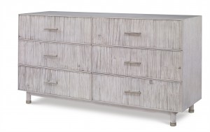 Biscayne 6 Drawer Dresser-Peninsula
