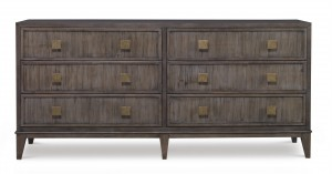 Carlyle 6 Drawer Dresser-Mink Grey (Bb-575-113)