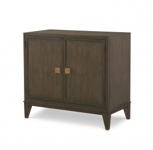 Carlyle 2 Door Chest - Mink Grey