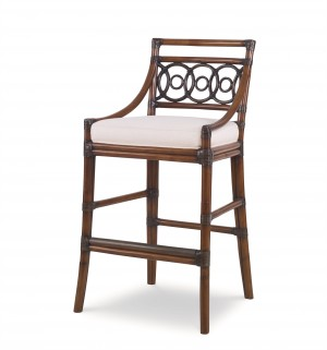 Circles Bar Stool-Flax