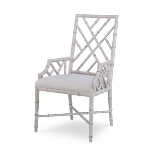 Brighton Arm Chair-Antique White/Flax (Cg-013-319-07)