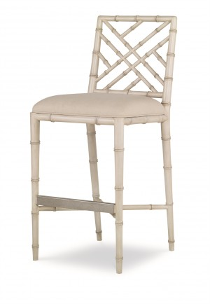 Brighton Bar Stool-Antique White/Flax (Cg-040-319-07)