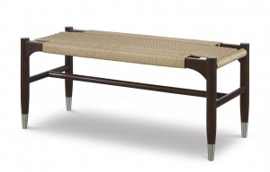Tristan Woven Bench-Sand