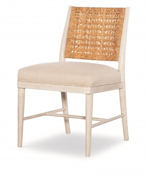 Naples Side Chair - Natural/Flax