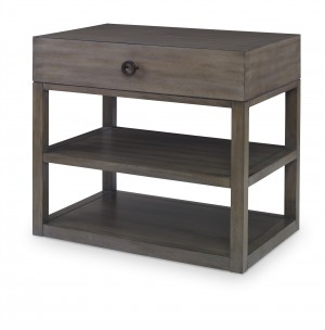 Laguna Large Nightstand-Mink Grey