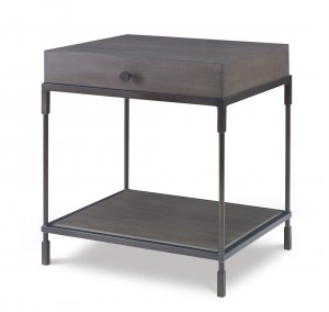 Westport End Table-Mink Grey (Lw-234-113)
