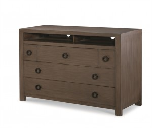 Chatham 5 Drawer Chest-Mink Grey