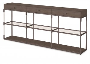 Westport Triple Console-Mink Grey