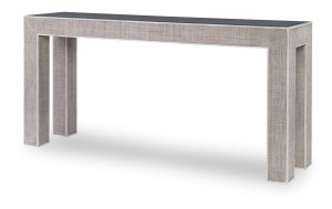 Newport Console Table-French Grey/Peninsula