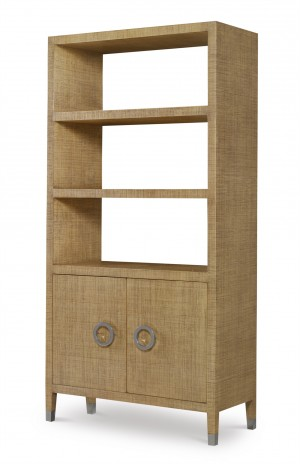 Charleston Bookcase-Sand
