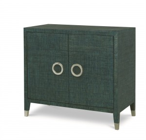 Charleston 2 Door Chest-Aqua