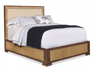 San Remo Queen Bed-Sand/Flax