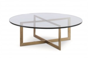 Nest Cocktail Table With Glass Top