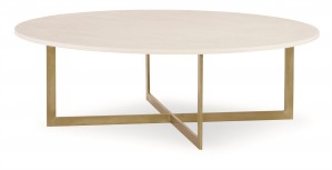 Nest Cocktail Table With Stone Top (Large)