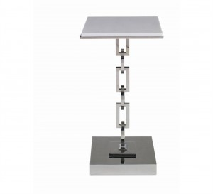 Natalia Arabesque Table With Stone Top