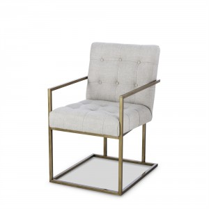 Kendall Metal Arm Chair