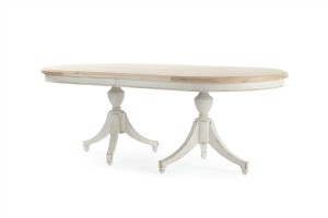 Madeline Double Pedestal Table