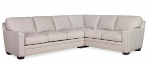 Clarendon Quilted Two Piece Sectional