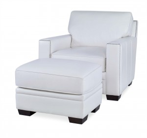 Clarendon Chair With Ottoman