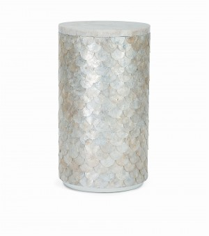 Capiz Accent Table