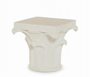 "20"" Corinthian Column Side Table"