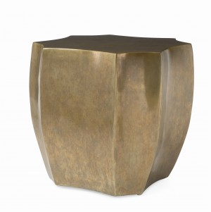 Emerge Brass Lamp Table