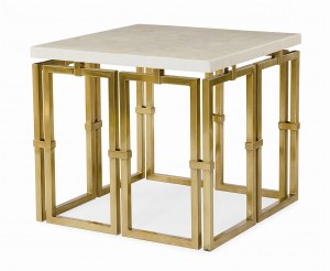 Links Lamp Table