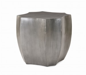 Emerge Zinc Lamp Table