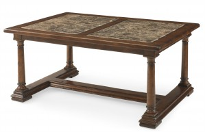 Mason's Cocktail Table With Marble